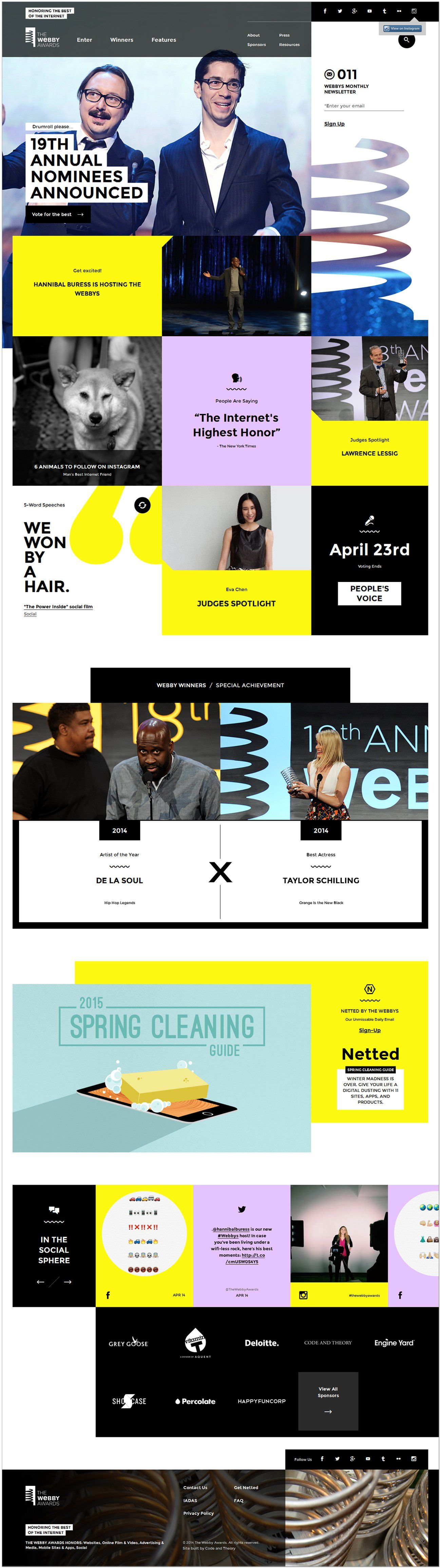 Daily Web Design And Development Inspirations No.543
