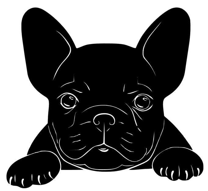 Frenchie Drawing French Bulldog Art Bulldog Drawing Dog