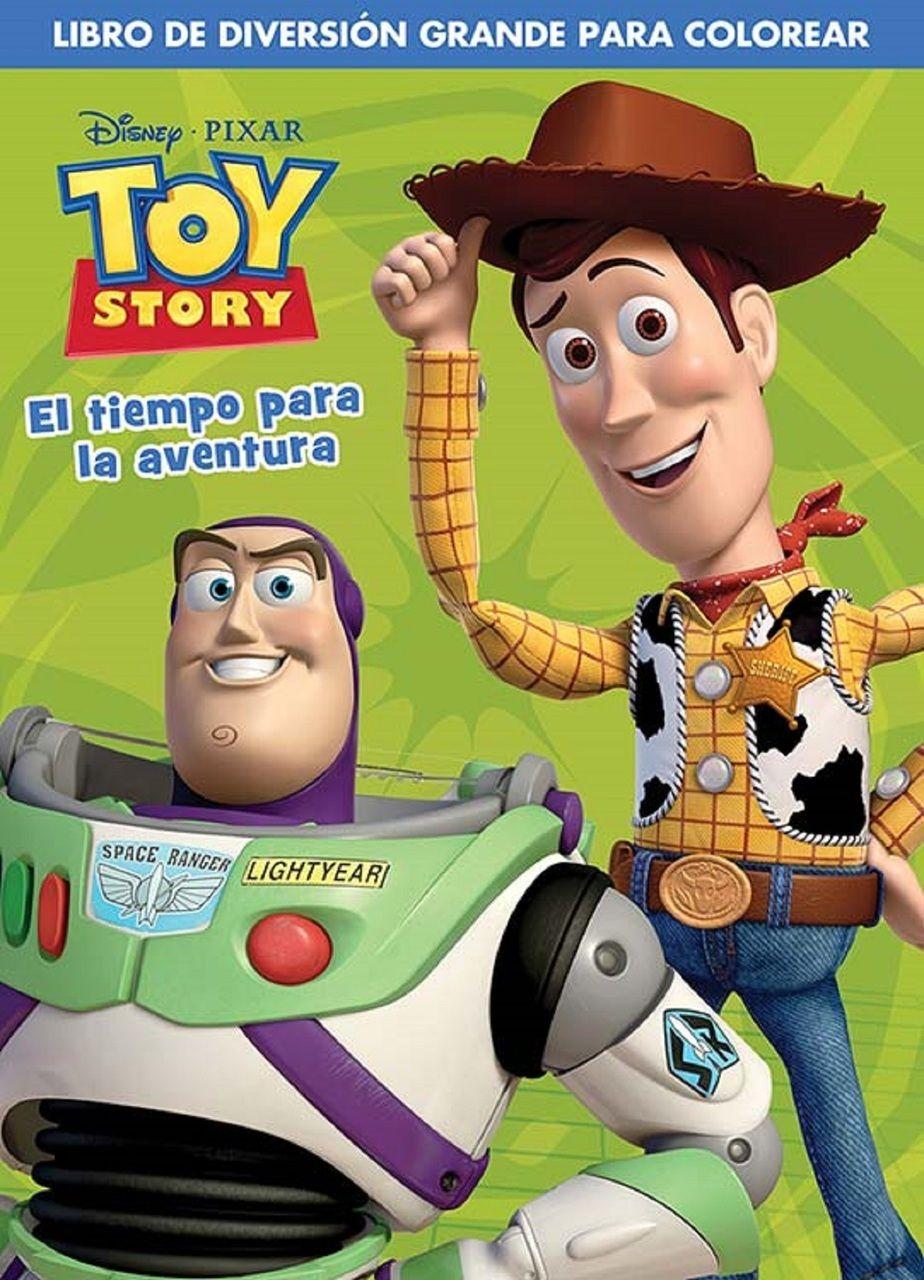 """Partytoyz Inc. - Toy Story Spanish 96 pg. Coloring Book - """"El Tiempo para la Aventura"""", $1.50 (http://www.partytoyz.com/toy-story-spanish-96-pg-coloring-book-el-tiempo-para-la-aventura/)"""