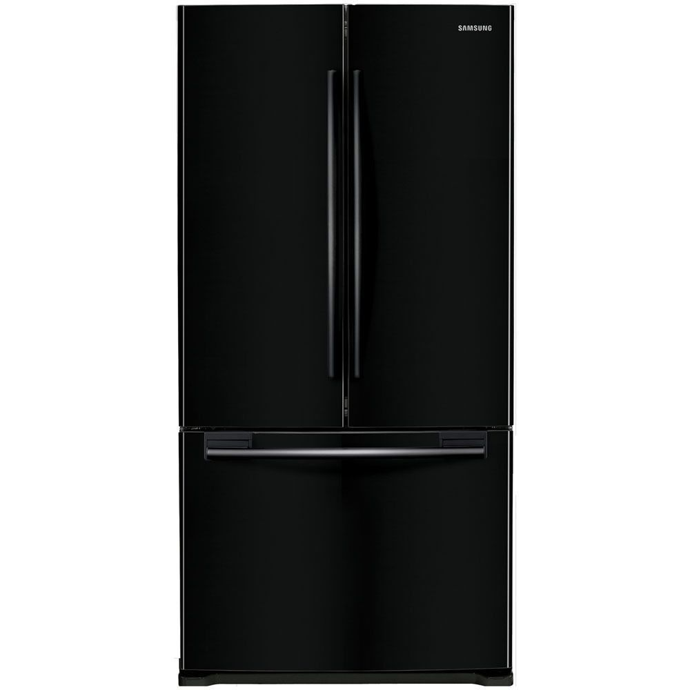 Refrigerator · Samsung Black Stainless Steel 33 Inch Counter Depth French  Door ...