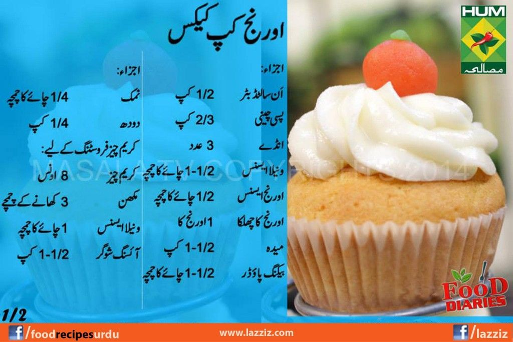 Easy cupcake recipes in urdu