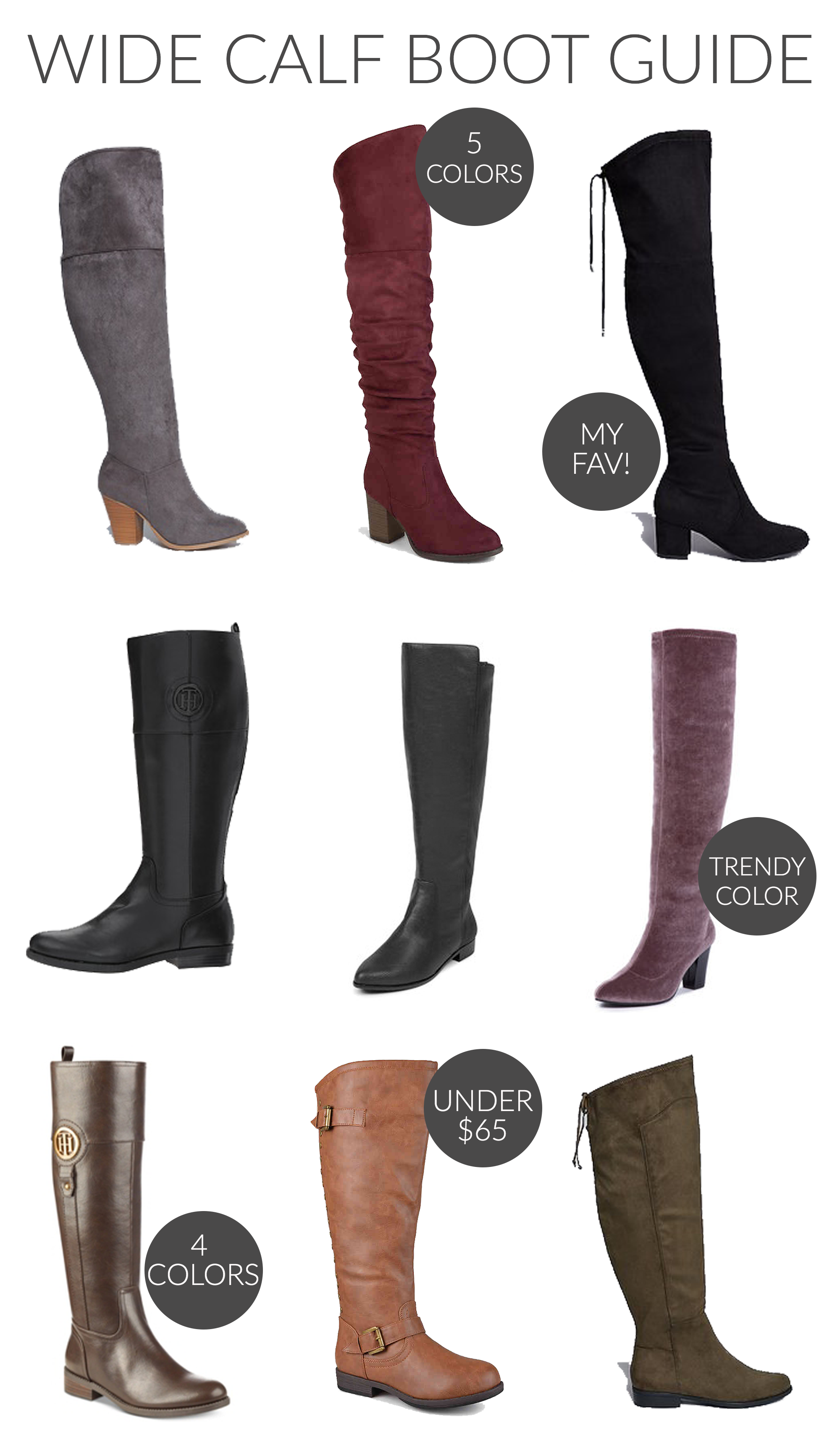 Wide Calf Boot Guide - Stylish Sassy