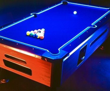 Glow in the dark pool table kit game room pinterest pool table glow in the dark pool table kit greentooth Image collections