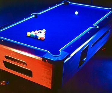 Glow in the dark pool table kit game room pool table - Glow in the dark table ...