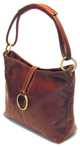 Floto Imports Tavoli Tote Handbag Italian Leather Vo Brown Ebay