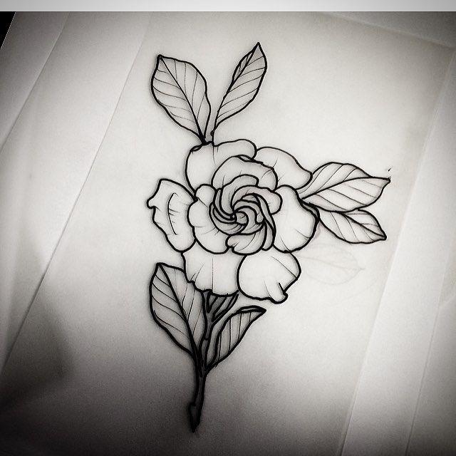 Gardenia Dia 23 Ja Estou Em Sao Paulo Atendendo No Ardham Tatuaria Para Rose Tattoos Gardenia Tattoo Inspirational Tattoos