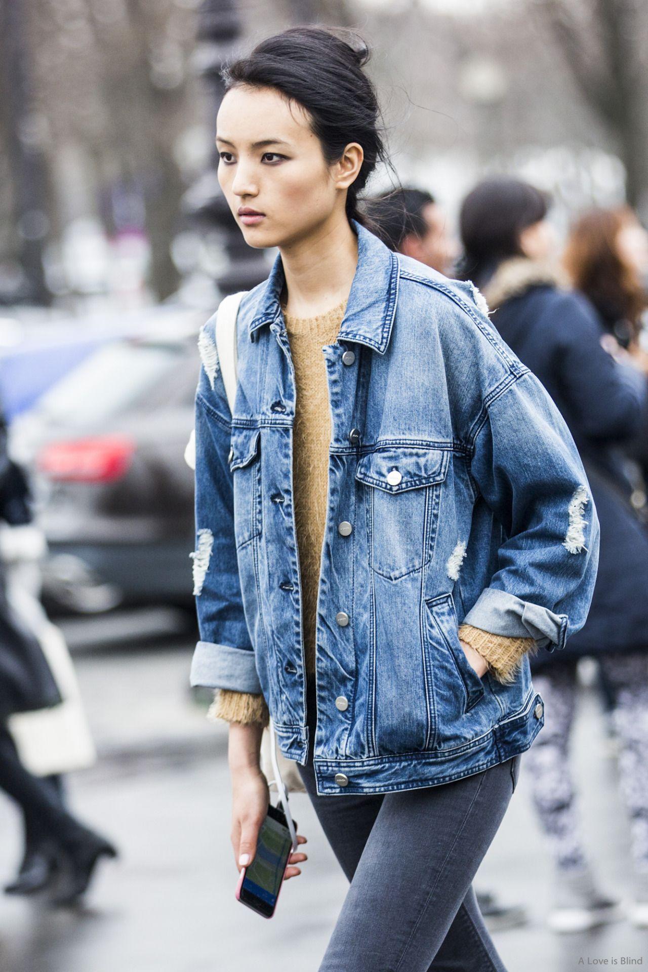Simply aesthetic | denim | Pinterest | Oversized denim jacket Denim jackets and Street