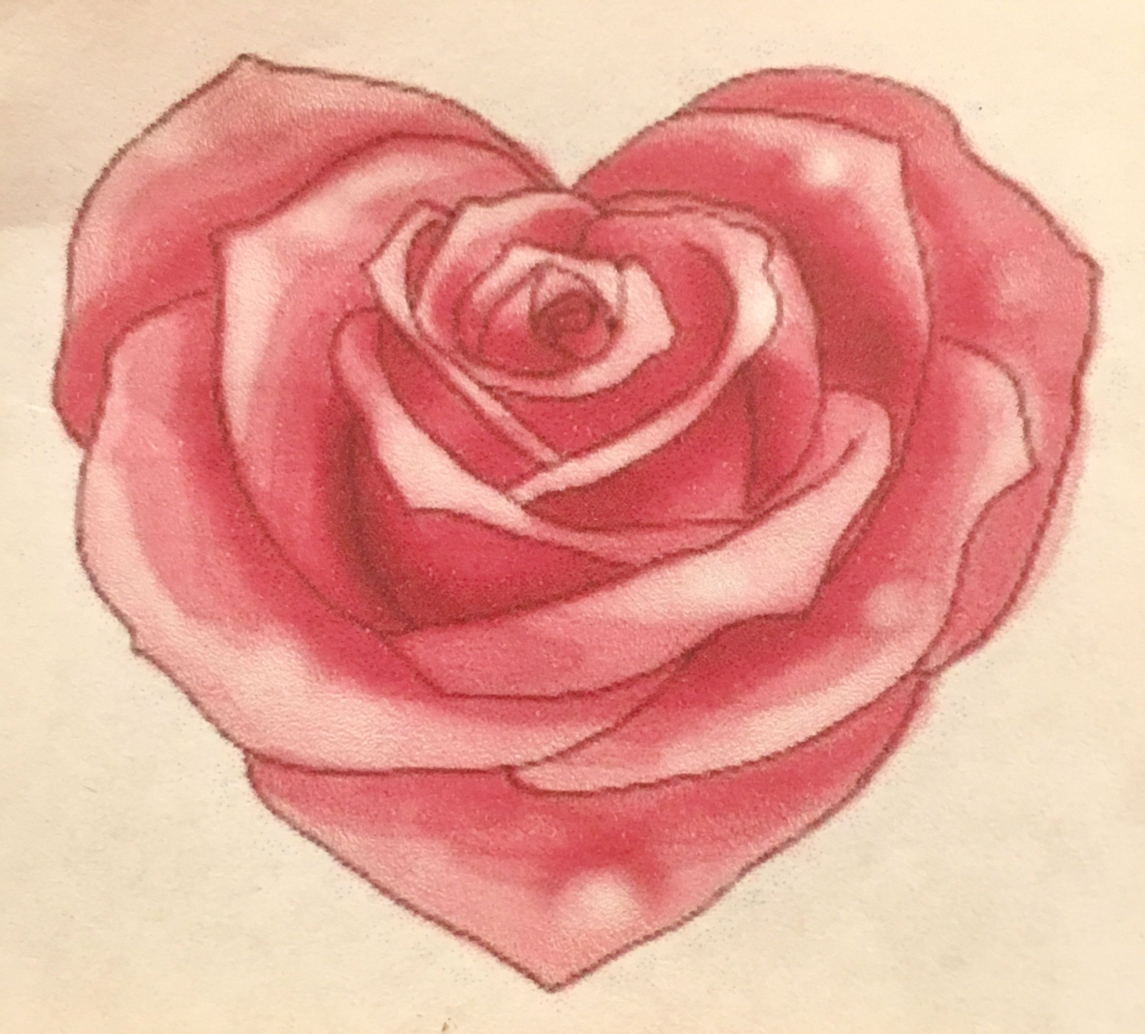 Pin By Sergio Ricardo Tattoo On Dia Das Maes Flower Drawing Tutorials Roses Drawing Rose Sketch