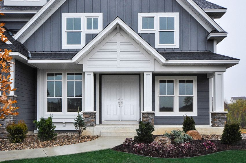 Pin By Valerie Wride On Home Sweet Home Exterior Siding Colors House Exterior House Paint Exterior