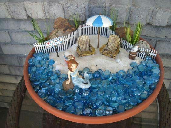 Glamorous Beach Fairy Garden Items Ideas - Best Image Home Interior ...