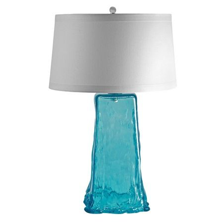I Pinned This Aqua Wave Table Lamp From The Design Report: Eco Chic Event At