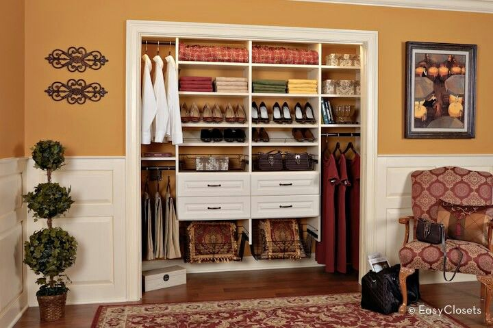 Simple closet designs custom closet design simple closet
