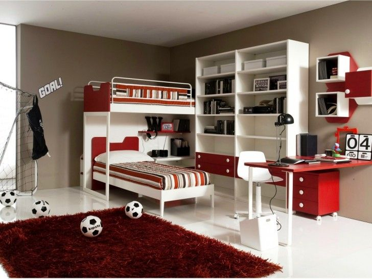 Cool Modern Bedroom Ideas for Boys Room Divine Soccer Scheme Room