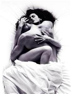 Romantic couples cuddling