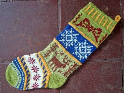Christmas Stocking Knitting Pattern Christmas Stockings