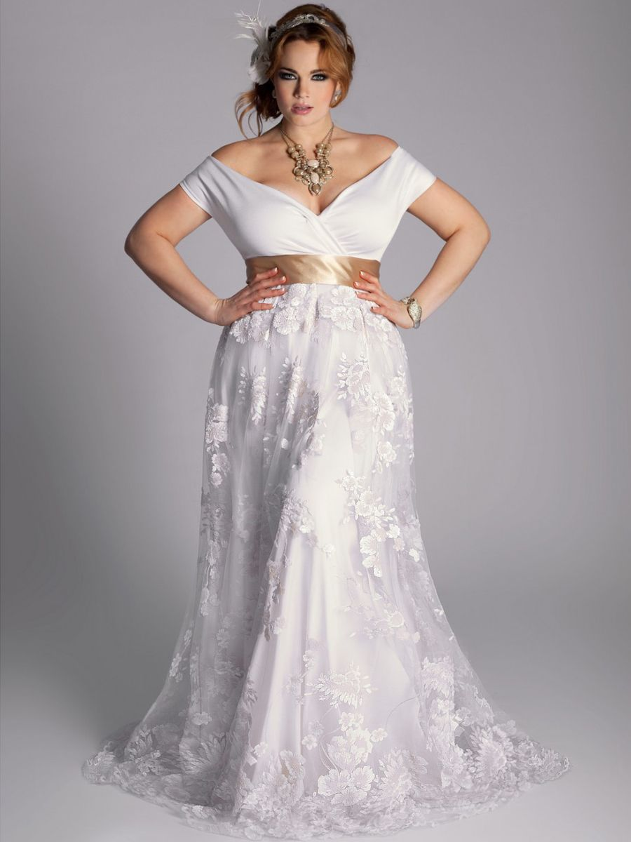 White Plus Size Dresses 40 Plus Plussize Curvy Plus Size