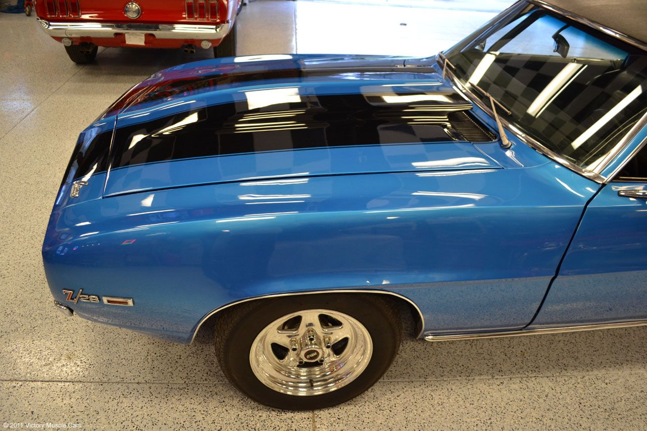 All Chevy all chevy muscle cars Victory Garage Spotlight: 1969 Chevrolet Camaro Z28 427 #Chevy ...