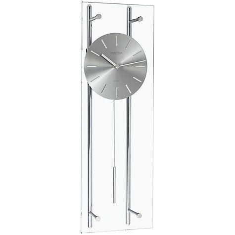 Buy London Clock Company Glass Pendulum Wall Clock Online at johnlewis.com