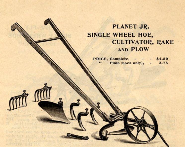 Old Planet Jr. Wheel Hoe