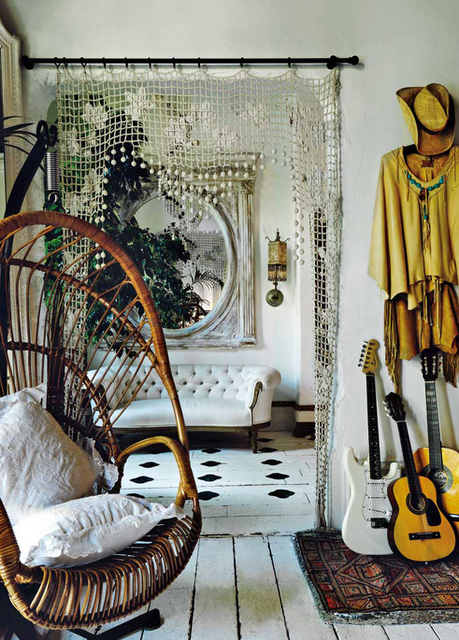 Love the swinging chair - interior by Sera Hersham Loftus- Sera of ...