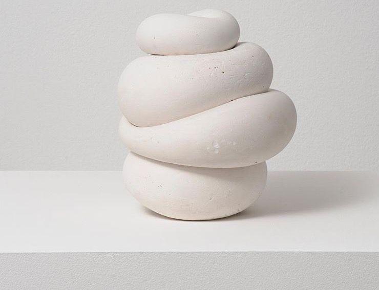 Plaster sculpture, Maria Bartuszova, 1970