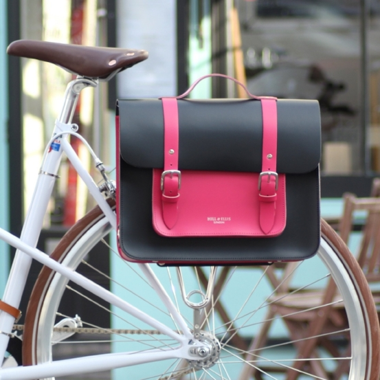 Black Pink Bike Bag
