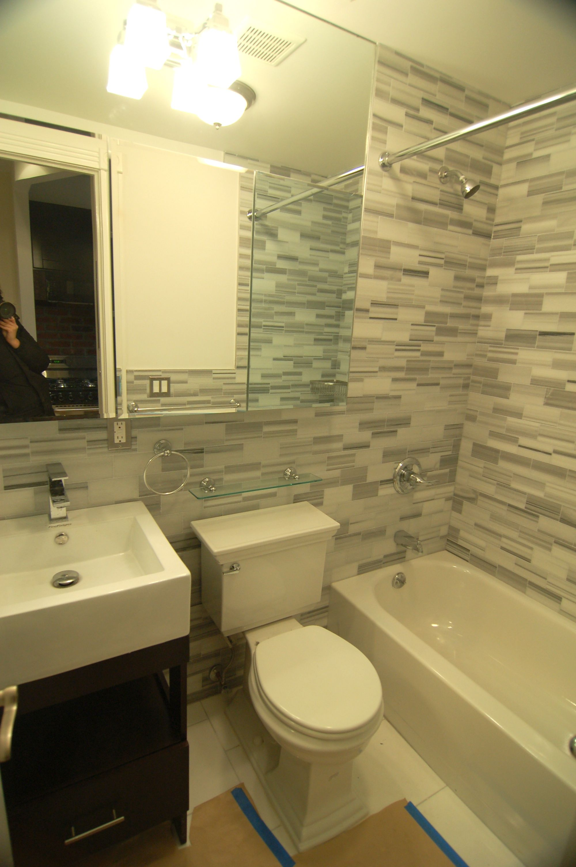 All new marble bathrooms in 9300's 134 Orchard building. #LES #Lowereastside | Marble bathroom ...