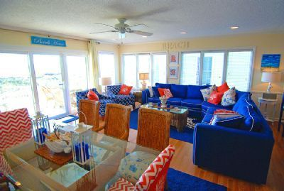 Sunset Properties' Carolina Coral is a Oceanfront vacation rental Duplex. Located in Sunset Beach, NC, this 4BR, 4 BA property has so much to offer! Choose Sunset Properties to help you plan your perfect vacation.