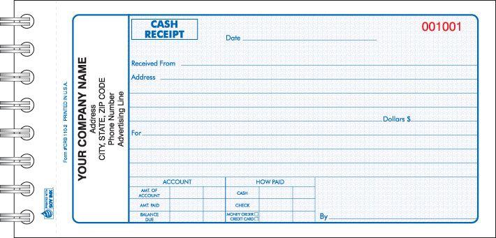 crb 110 wire bound cash receipt book cash receipt forms books rh pinterest com Manual Transactions Receipts Manual ACH Receipts