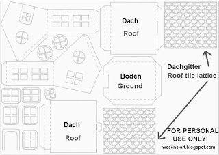 Wesens-Art: Papier-Haus / Paper House | cardboard houses | Pinterest ...