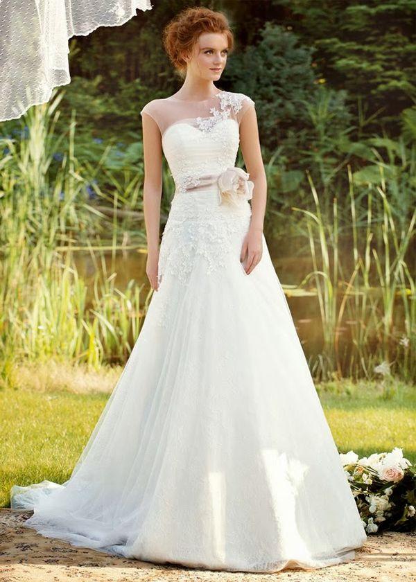 vestido de novia, wedding dress | Vestido Novia para Mujer 40 años + ...