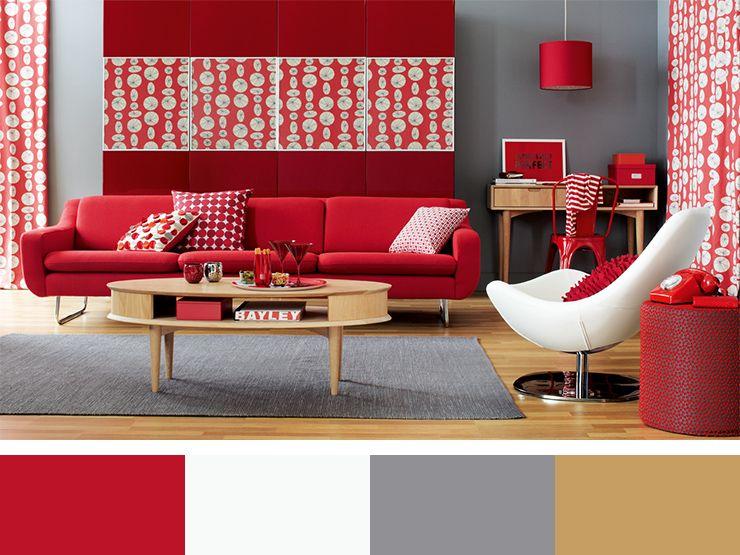 30 Inspirational Interior Design Color Schemes Design Build Ideas Peti Kayu Rumah Merah