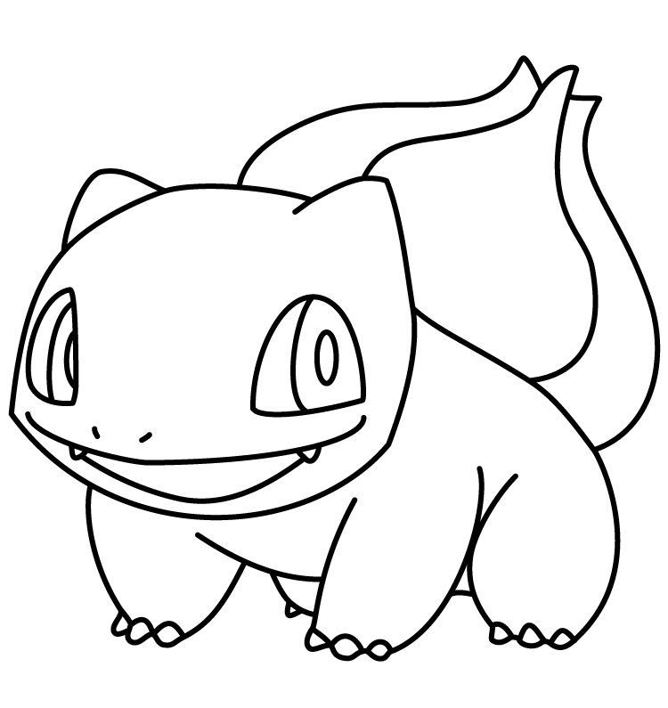 Pokemon Coloring Pages Of Bulbasaur In 2020 Pokemon Coloring
