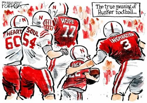 Ann on | Go Big Red! | Nebraska cornhuskers football
