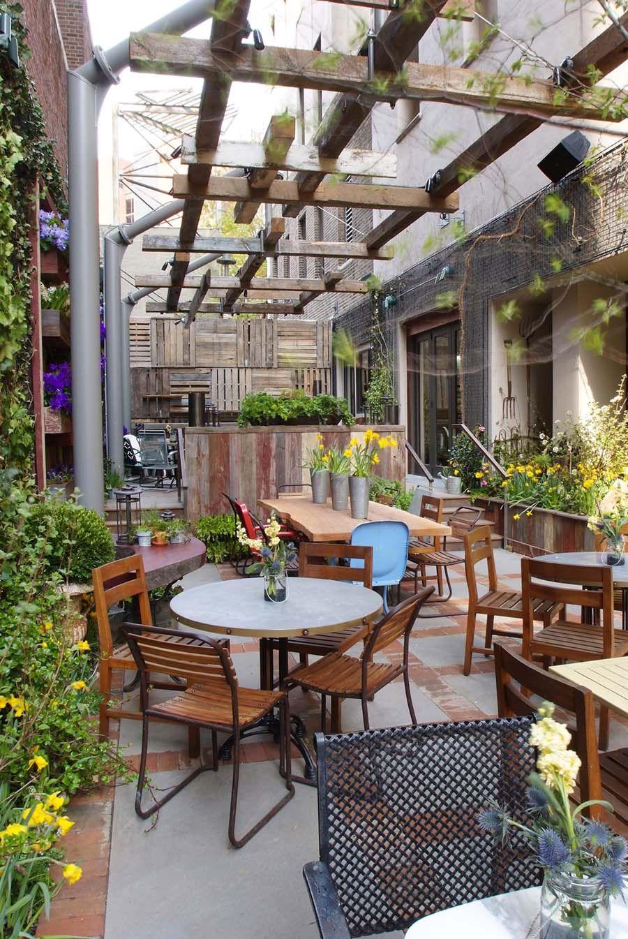 Talula S Garden Restaurant Outdoor Cafe Cafe Design Patio Backyard garden healthy drinks cafe