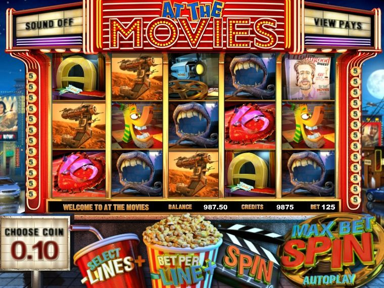 Spiele At The Movies - Video Slots Online