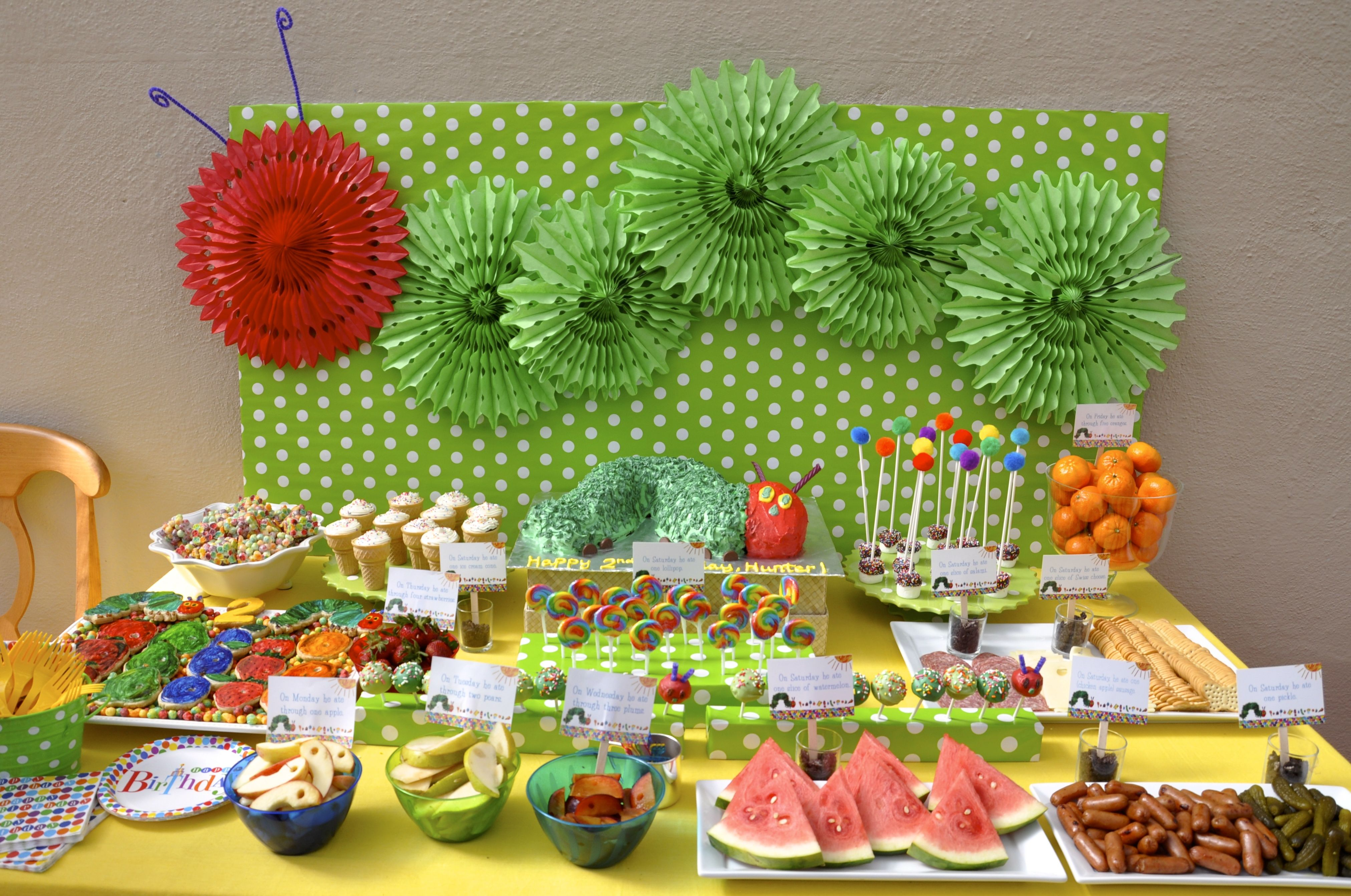 Hungry Caterpillar Party By Cherry On Top Parties Of San