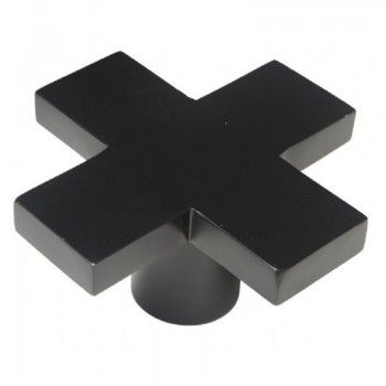 Funky Wall Hooks cross wall hook black | these funky black cross wall hooks make a