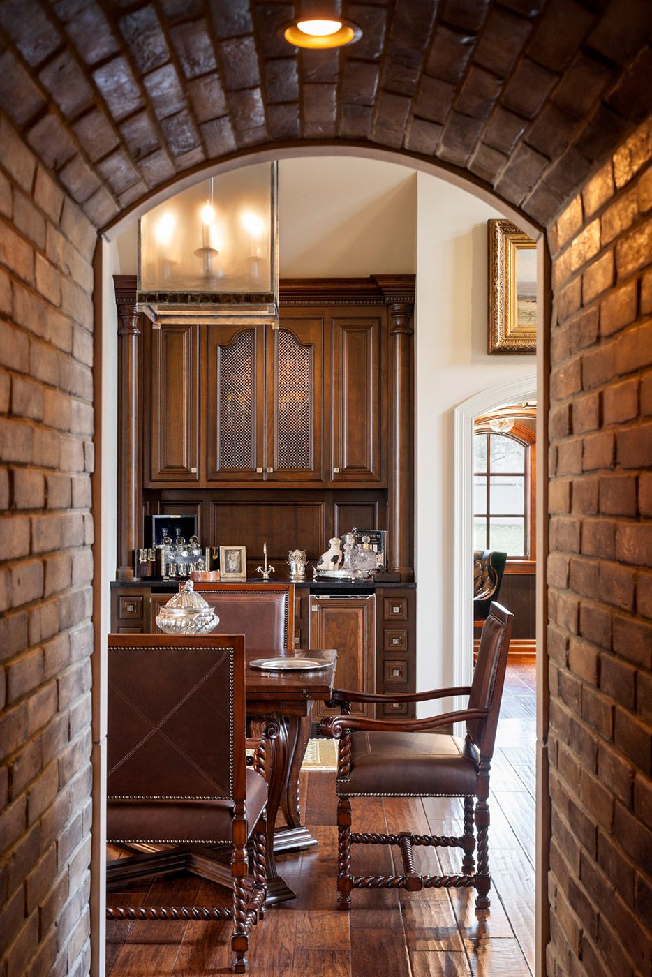 Joy tribout interior design bricked archway awesome