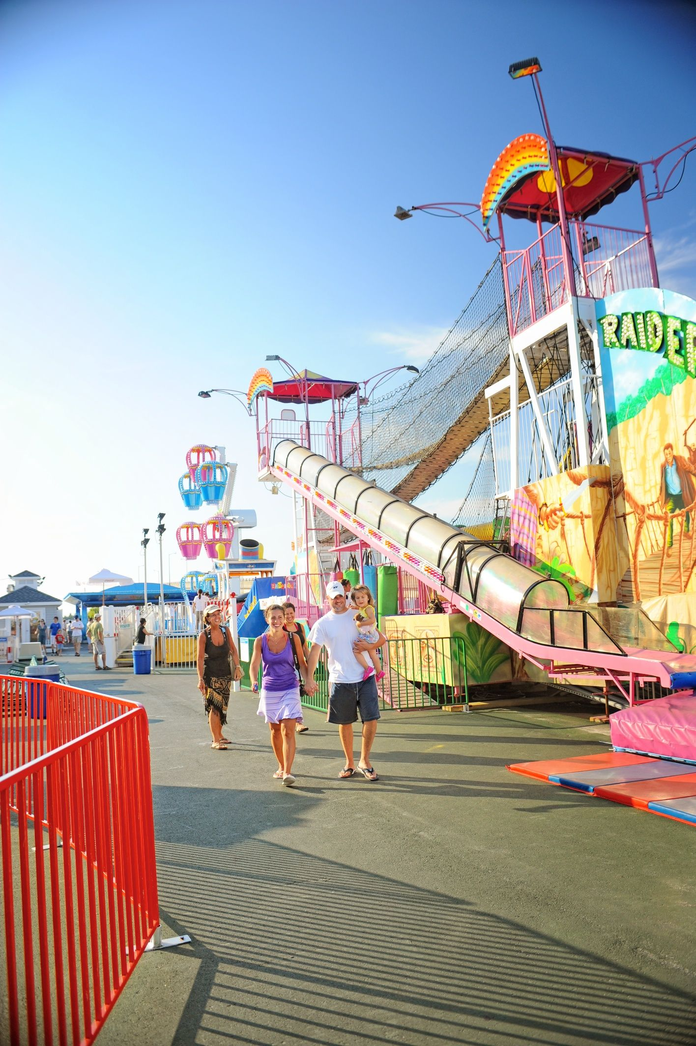 Enjoy The Rollercoasters And Rides At Wildwood Boardwalk On Your Summer Vacation Cape May Point Ocean City Je Wildwood Boardwalk Wildwood Nj Cape May County