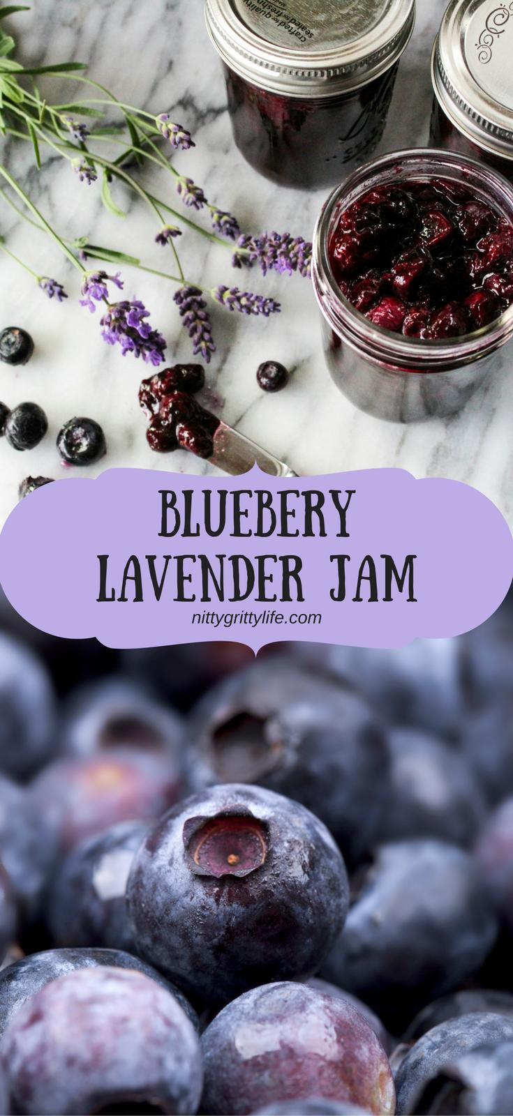 Blueberry Lavender Jam #favoriterecipes