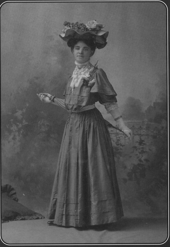1905 gibson girl style midsummer