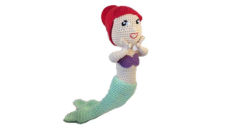 Freie Häkelanleitung Eine Kleine Meerjungfrau Häkeln Zum