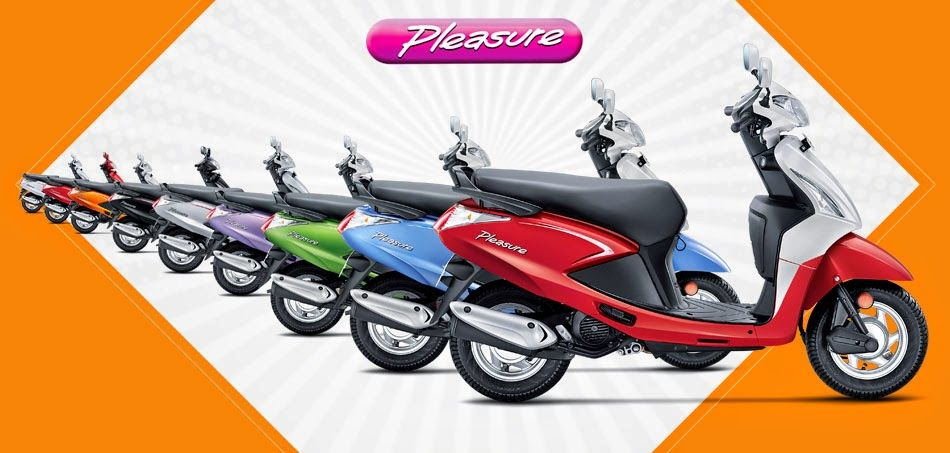 New Motorcycles And Scooters Models In India Hero Pleasure Bike