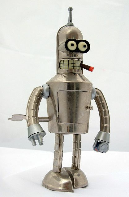 Bright Shiny Bender Retro Toys Con Imagenes Arte Robot