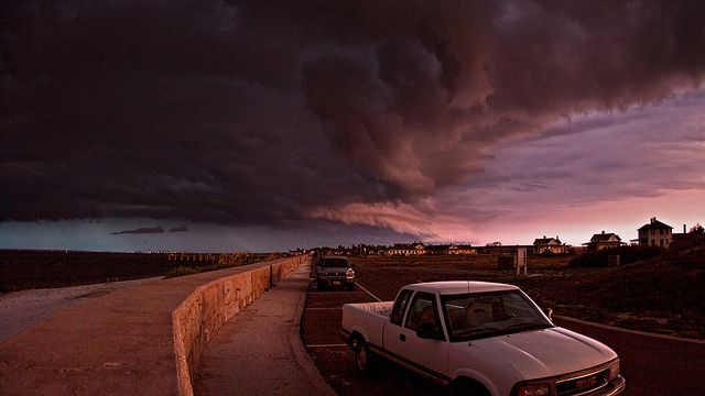 Shelf Clouds Over Pensacola Beach by Greg Riegler Photography, via Flickr