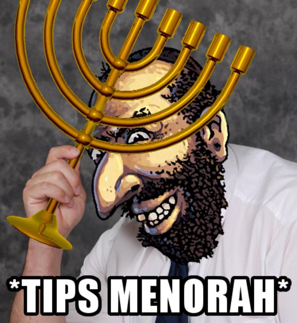 Tips Menorah Happy Merchant Politically Incorrect Merchants Menorah