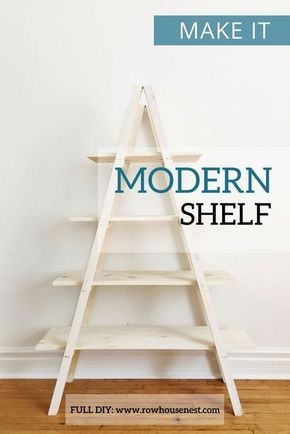 Modern A Frame Plant Stand | diy | Pinterest | Tutorials