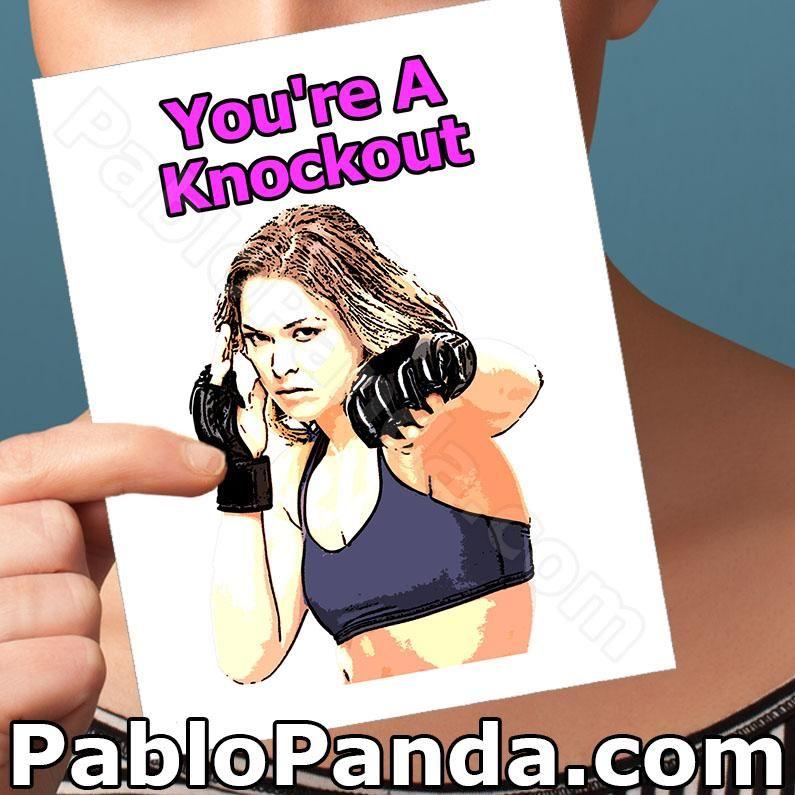 Pablopanda Com Pablo Panda You Re A Knockout Anniversary