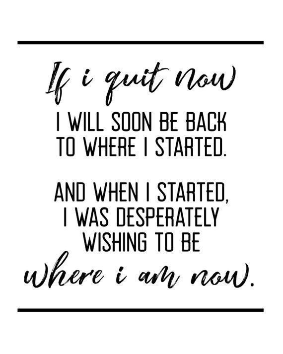 Wenn ich jetzt aufhöre, Motivations-Zitat, Crossfit, Training, Training, Triathlon, Laufen, F... - f...